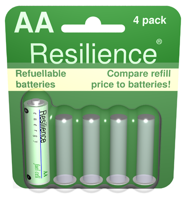 Refuellable Battery Package